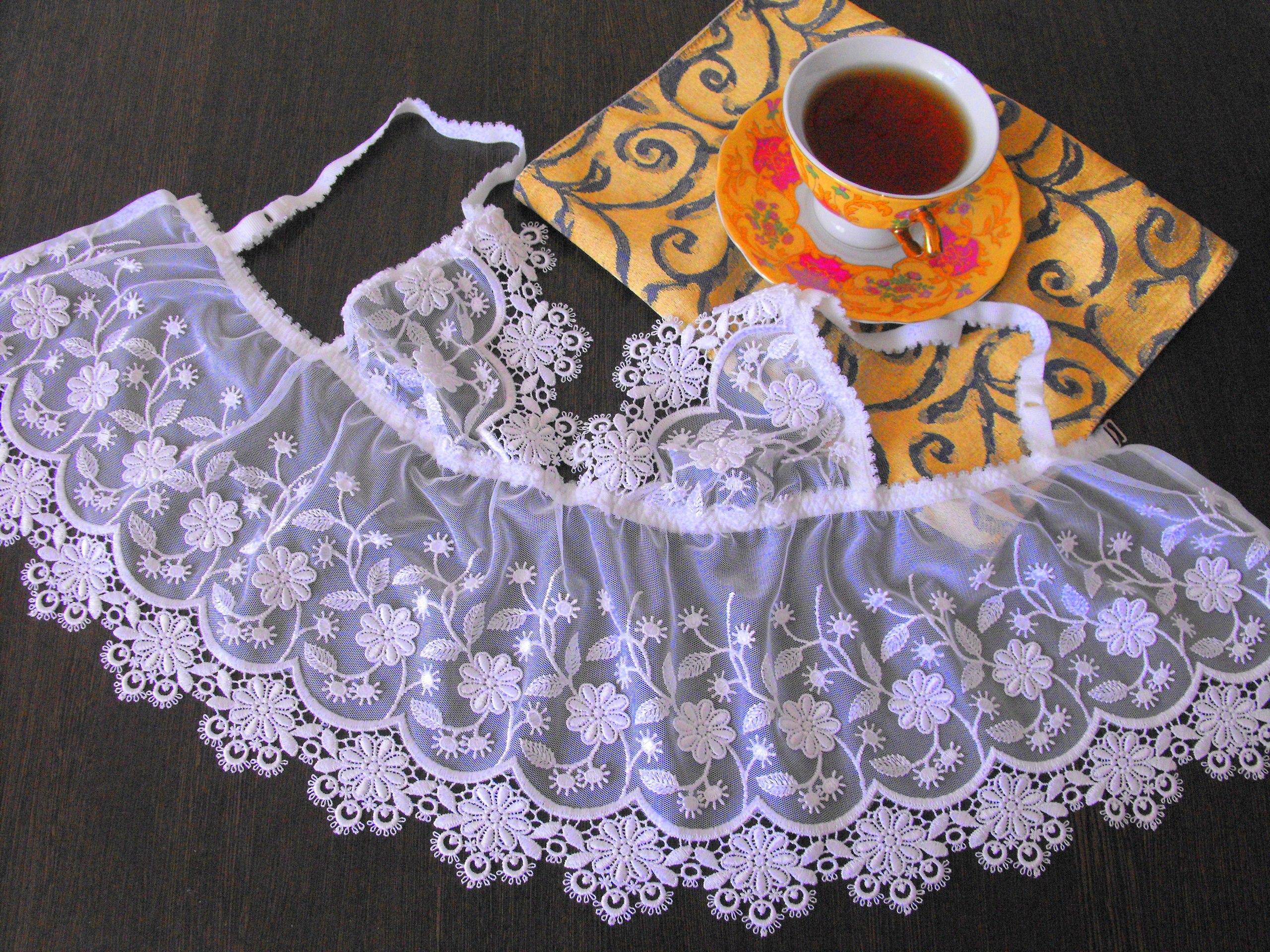 Вязание кружевного нижнего белья